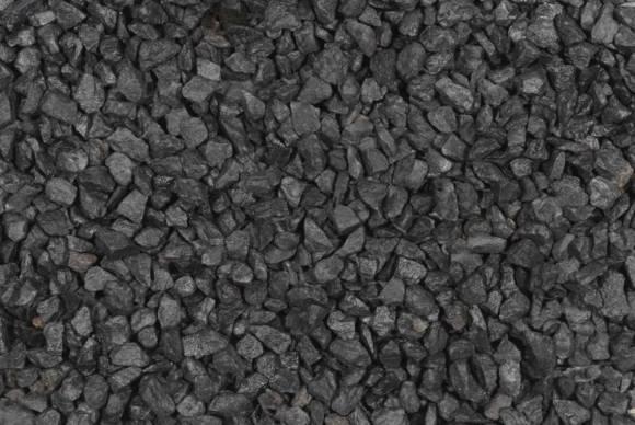 Zwart basalt brokken