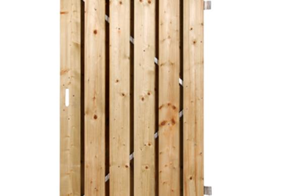 Breda deur stalen frame